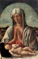 Madonna and Child V - Giovanni Bellini Oil Painting