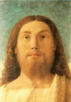 Head of the Redeemer - Giovanni Bellini Oil Painting