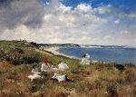 Idle Hours -William Merritt Chase Oil Painting