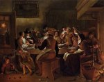 Twelfth Night II - Jan Steen oil painting