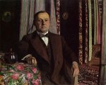 Portrait of Mr. Hasen - Felix Vallotton Oil Painting
