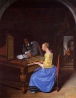Action Proves the Man - Jan Steen oil painting