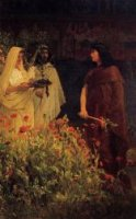 Tarquinius Superbus - Sir Lawrence Alma-Tadema oil painting