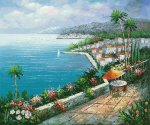 View from the Resort - Oil Painting Reproduction On Canvas