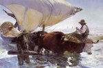 The Return of the Catch - Joaquin Sorolla y Bastida Oil Painting