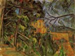 Chateau Noir II - Paul Cezanne Oil Painting