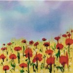 A field of poppies - Oil Painting Reproduction On Canvas