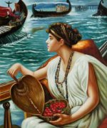A Roman Boat Race, 1889 - Oil Painting Reproduction On Canvas