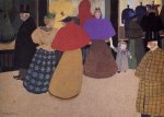 Passerby - Felix Vallotton Oil Painting