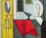 The Studio II - Pablo Picasso Oil Painting