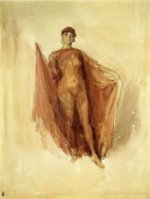 Dancing Girl - James Abbott McNeill Whistler Oil Painting
