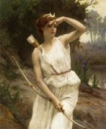 Diana, the Huntress - Oil Painting Reproduction On Canvas