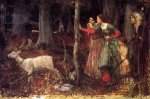The Mystic Wood - John William Waterhouse Oil Painting