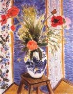 Poppies-Fireworks - Henri Matisse oil painting,