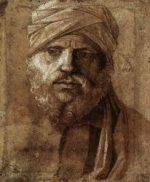 Man with a Turban - Giovanni Bellini Oil Painting