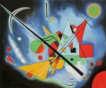 Blue Paintin by Wassily Kandinsky