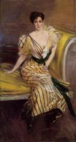 Portrait of Madame Josephina Alvear de Errazuriz - Oil Painting Reproduction On Canvas
