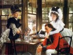 Bad News - James Tissot oil painting