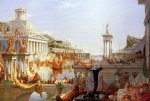 The Course of Empire: Consummation - Thomas Cole Oil Painting