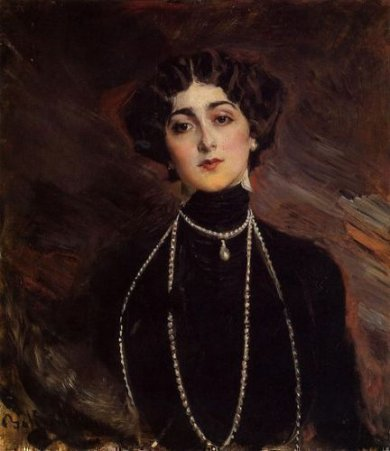 Portrait of Lina Cavalieri - Oil Painting Reproduction On Canvas
