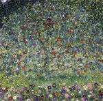 Apple Tree II - Gustav Klimt Oil Painting