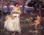 A Song of Springtime - Oil Painting Reproduction On Canvas