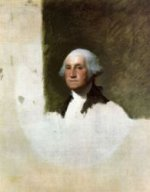 George Washington VII - Gilbert Stuart Oil Painting