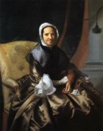 Mrs. Thomas Boylston (Sarah Morecock) - Oil Painting Reproduction On Canvas