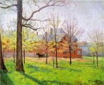 Talbott Place - Theodore Clement Steele Oil Painting