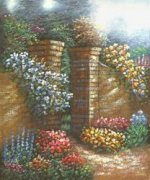 Secret Garden - Oil Painting Reproduction On Canvas