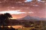 Mount Ktaadn - Frederic Edwin Church Oil Painting