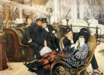 The Last Evening - James Tissot oil painting