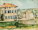The Jas de Bouffan II - Paul Cezanne Oil Painting