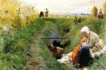 Our Daily Bread - Anders Zorn Oil Painting