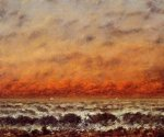 Seascape III - Oil Painting Reproduction On Canvas