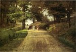 An Indiana Road - Oil Painting Reproduction On Canvas
