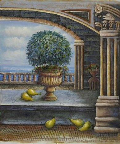 Queen's Balcony - Oil Painting Reproduction On Canvas