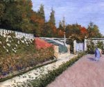 The Gardener - Gustave Caillebotte Oil Painting