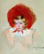 Child with Red Hat - Mary Cassatt Oil Painting