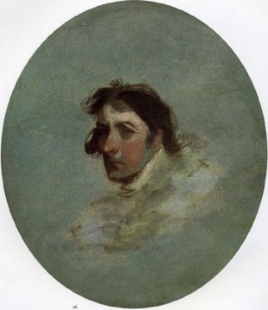 Self Portrait - Gilbert Stuart Oil Painting