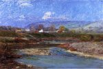 November Morning II - Theodore Clement Steele Oil Painting