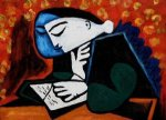 Girl Reading - Oil Painting Reproduction On Canvas