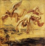 The Fall of Icarus - Peter Paul Rubens Oil Painting