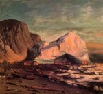 The Ice Gate of Cape St. Michael - William Bradford Oil Painting