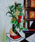 Tomato Plant III - Pablo Picasso Oil Painting