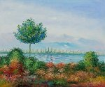 Stone Pines - Claude Monet Oil Painting
