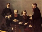 The Five Painters - Felix Vallotton Oil Painting