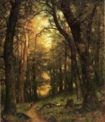 The Old Hunting Ground - Thomas Worthington Whittredge Oil Painting