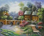 Lamplight Inn II - Oil Painting Reproduction On Canvas