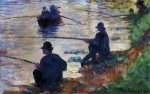 Fishermen - Oil Painting Reproduction On Canvas